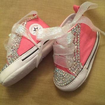 DCKL9 Bling Baby Converse by RadianceDesigns on Etsy