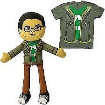 The Big Bang Theory Sheldon Leonard Plush Doll 11 Inch Officially Licensed