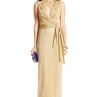 DVF Nina Metallic Gown