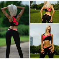 Sports Women's Fashion Hot Sale Patchwork Bottom & Top [9004956038]