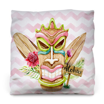 Aloha Boy Throw Pillow