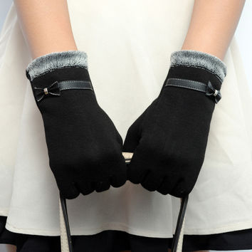 Best Deal New Fashion Elegant Womens Touch Screen Winter Warm Wrist Gloves Mittens  Luvas 1Pair