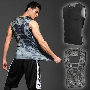 2018 Men Workout GYM Fitness Tops Long Tee Sport Running Train Quick Dry Compression Exercise Muslce Bodybuilding T Shirt UX65