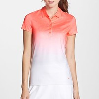 Women's Nike 'Fade' Dri-FIT Golf Polo