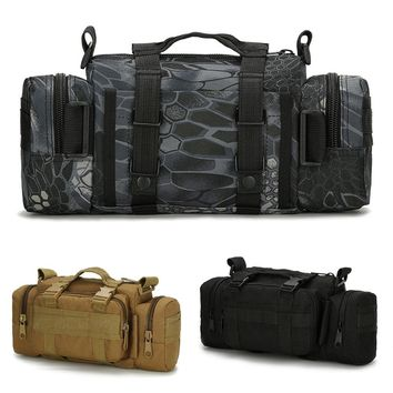 Multi-function Outdoor Sport Waterproof Tactical Running Bag Pockets Camera Photography Waist Pack Package
