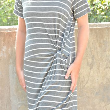 Brand New Day Dress - Charcoal