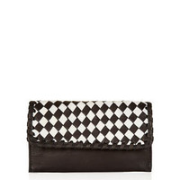 Woven Leather Purse - This Modern Life  - We Love