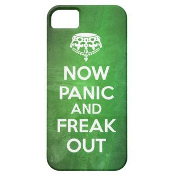 BCB | NOW PANIC AND FREAK OUT GRUNGE IPHONE 5 CASE IPHONE 5 COVERS from Zazzle.com