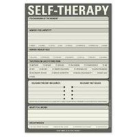 Self-Therapy Pad - A Notepad for Neurotics by Knock Knock