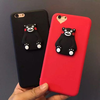Hot Deal Cute Hot Sale Iphone 6/6s On Sale Stylish Cartoons Couple Soft Phone Case [4915504132]