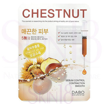 DABO First Solution Chestnut Shell Mask Sheet Pack