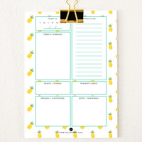 Everyday Planner Sheets | Pineapples