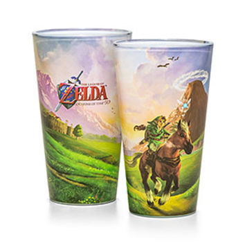 Legend of Zelda Scenic Pint Glass