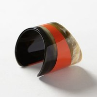 Banded Horn Cuff by Anthropologie Orange One Size Jewelry