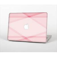 The Subtle Layered Pink Salmon Skin Set for the Apple MacBook Pro 15""
