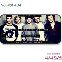 ID Phone Cases, iPhone 5/5S Case, iPhone 5/5C Case, iPhone 4/4S Case, Phone covers, 11.12.10 boys one direction x-factor-400434