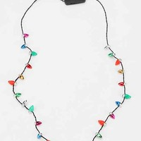 Holiday Flashing Light Necklace- Assorted One