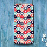 Cute Colorful Hexagon Pattern Design Cover iPod Touch iPhone Cool Case Pretty