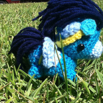Soarin My Little Pony crocheted