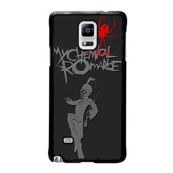 MY CHEMICAL ROMANCE BLACK PARADE 2 Samsung Galaxy Note 4 Case Cover