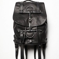Horse & Nail Womens Rider Backpack - Black One