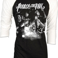 Pierce the Veil Vic Mike Fuentes Post Hardcore A Flair for the Dramatic Retro Vintage Adult Raglan Baseball 2 Tones men women S,M,L