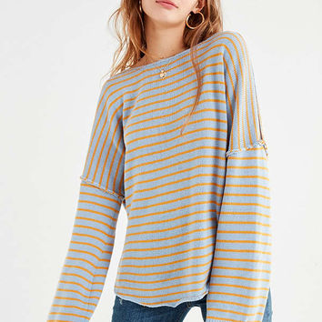 UO Skylar Twisted-Back Sweater | Urban Outfitters