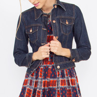 Sugarlips Billie Jean Classic Dark Denim Jacket