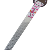 GIFT ITEM | Geisha Girl | Japanese Nail File | White
