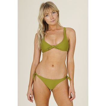 Stone Fox Swim - Hana Top | Avocado