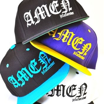 Amen Snap Back Hat