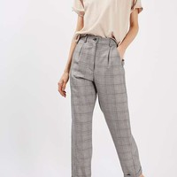 Check Mensy Peg Trousers - Pants & Leggings - Clothing