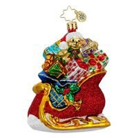 Christopher Radko Presents and Parcels Ornament
