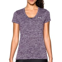 Under Armour Women's Twisted Tech V-Neck Shirt | DICK'S Sporting Goods