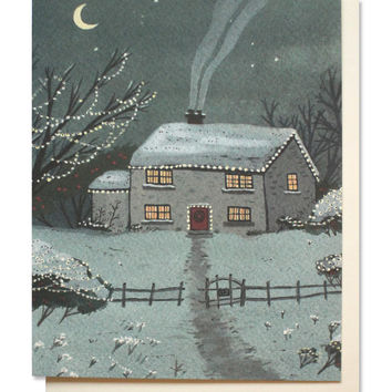 holiday house card