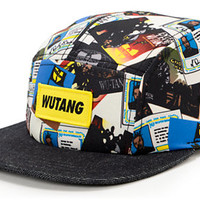 Wu-Tang Discography White & Navy 5 Panel Hat