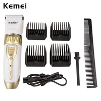 Kemei Professional Hair Clipper Adjustable Haircut Machine Hair Cutting Machine Electric Hair Beard Trimmer Cutter Men Kids 6666