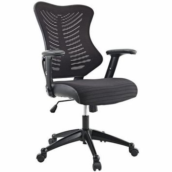 Clutch Office Chair Black