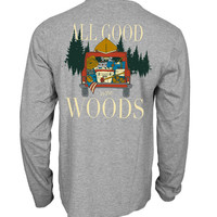 'All Good in the Woods' Long Sleeve Tee