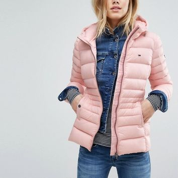 Hilfiger Denim Puffa Jacket at asos.com