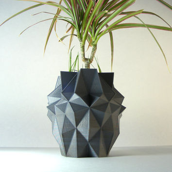 Stealth Grenade Plant Pots, army gifts for him, man gift father, spikes, abstract shapes, geometric shapes, cool designs, geometric decor