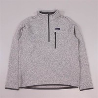 Patagonia Better Sweat 1/4 Zip Stonewash Grey