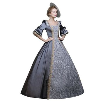 Women Cosplay Ball Gowns Medieval Renaissance Victorian Dresses