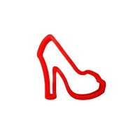 Silhouette Shoe Cookie Cutter-High Heel