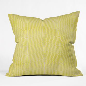 Hello Twiggs Hello Sunshine Outdoor Throw Pillow