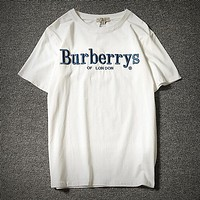 Burberry Fashion Casual Shirt Top Tee