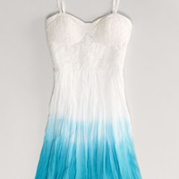 AEO Women's Dip-dyed Corset Dress
