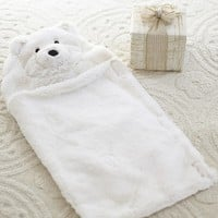 Ivory Bear Doll Sleeping Bag | Pottery Barn Kids