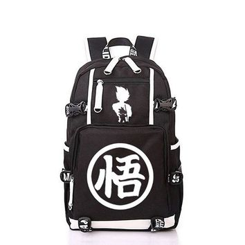 "University College Backpack New Dragon Ball Z Dragonball Laptop  Cosplay Son Goku School bags 17 ""  Students Bag Bookbag TravelbagAT_63_4"