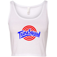 TurnTo Designs - Crop Top TUNE SQUAD Lola Vinyl M/L with Name/Number